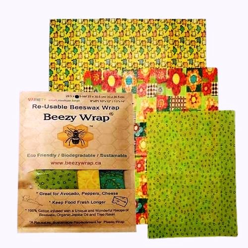 Beezy-Wrap-Variety-Pack-beeswax-wrap-plastic-wrap-alternative
