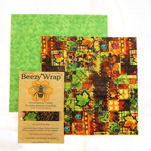 Beezy Wrap®Beeswax Wrap. A Biodegradable, all natural, eco friendly beeswax wrap made in Nova Scotia, Canada. A beeswax plastic wrap alternative. Beeswax wrap Canada.