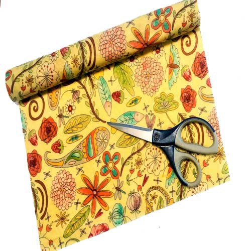 Beezy Wrap® Multi Color Roll of Beeswax Wrap