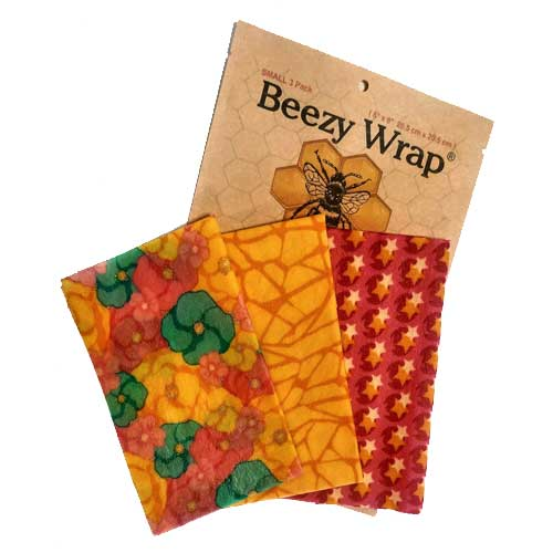 Beezy Wrap® Small pack beeswax food wrap
