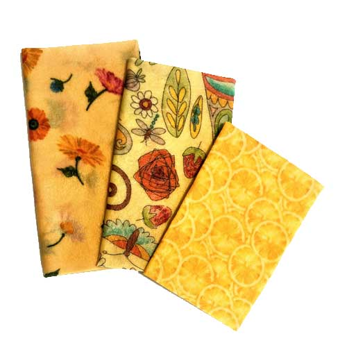 Beezy Wrap® Multi Color Variety 3 Pack Beeswax Wrap, multi color