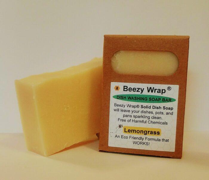 Beezy Wrap solid dish soap , zero plastic, eco-friendly, zero waste