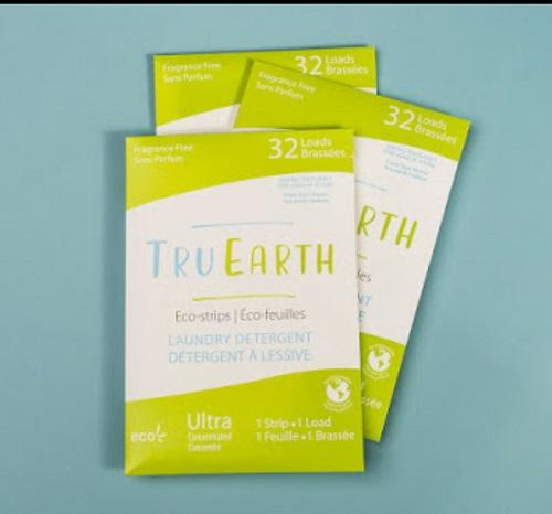 Tru Earth Laundry Strips unscented, Scent. Zero Plastic Clean.